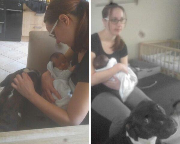 De dierbare ontmoeting met ons kersverse baby'tje
